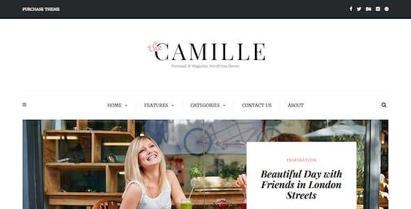 Camille - Personal & Magazine WordPress Theme