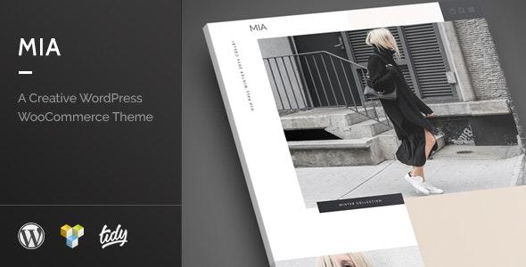 Mia - Creative Fashion WordPress WooCommerce Theme - WooCommerce eCommerce