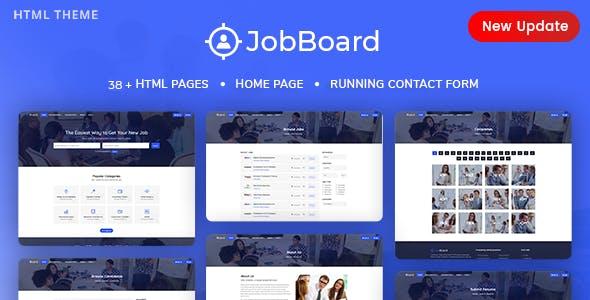 Job Board - Job Portal HTML Template + RTL