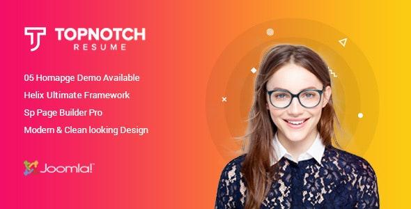 Sciome - Creative Resume & Portfolio Joomla Template with Page Builder - Portfolio Creative