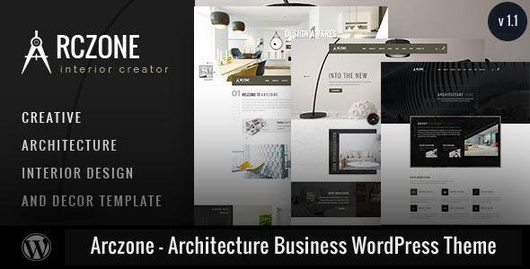 Arczone - Architecture Business WordPress Theme - Corporate WordPress