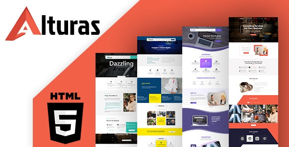 Alturas Multipurpose HTML Template - Business Corporate