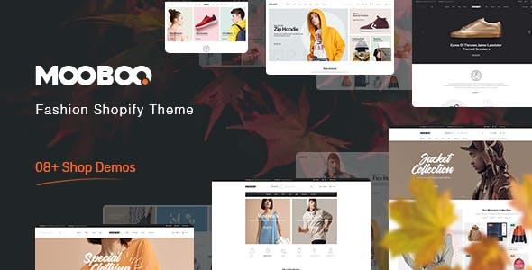 Fashion Shopify Theme - Mooboo