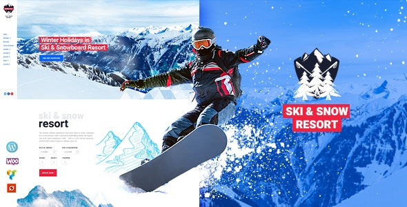 Snow Club | Ski Resort and Snowboard Classes WordPress Theme - Travel Retail