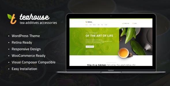 Tea House | Tea Store and Cafe WordPress Theme