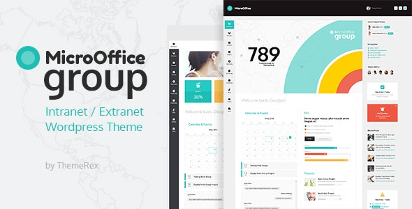 Micro Office | Extranet & Intranet WordPress Theme - BuddyPress WordPress
