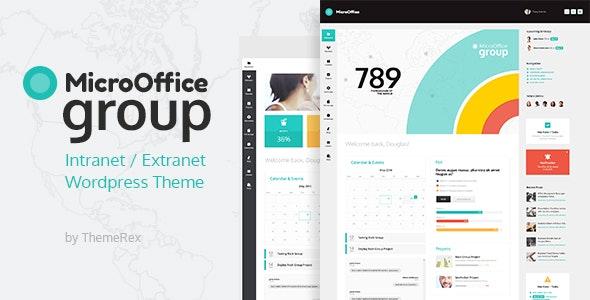 Micro Office | Extranet & Intranet WordPress Theme - BuddyPress WordPress