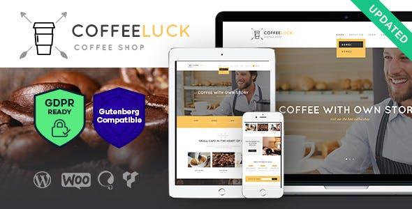 Coffee Luck | Coffee Shop / Cafe / Restaurant WordPress Theme