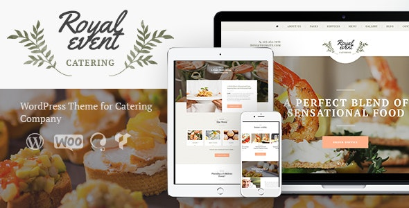 Royal Event | Planner & Catering Company WordPress Theme - Events Entertainment