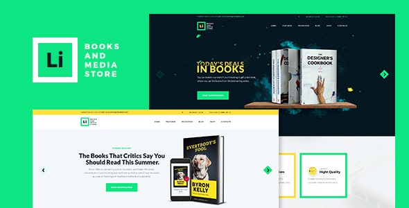 Lorem Ipsum | Books & Media Store WordPress Theme - WooCommerce eCommerce