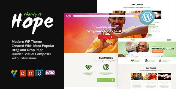 Hope | Non-Profit, Charity & Donations WordPress Theme + RTL - Charity Nonprofit