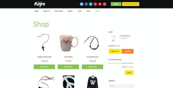 Hope | Non-Profit, Charity & Donations WordPress Theme + RTL