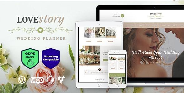 Love Story | A Beautiful Wedding and Event Planner WordPress Theme - Wedding WordPress