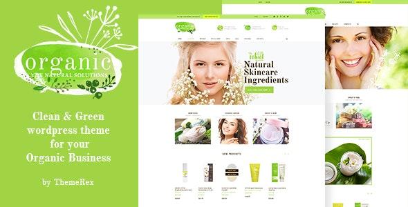 Organic Beauty Store & Natural Cosmetics WordPress Theme - WooCommerce eCommerce