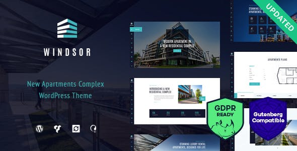 Windsor Apartment Complex Single Property WordPress Theme