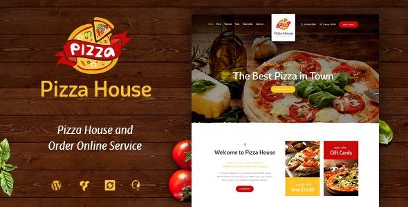 Pizza House - Restaurant / Cafe / Bistro WordPress Theme by