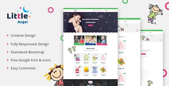 LittleAngel - Store eCommerce HTML5 Template - Shopping Retail