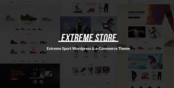 Extreme | Sports Clothing & Equipment Store WordPress Theme - WooCommerce eCommerce
