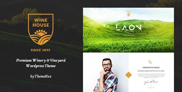 Laon | Wine House, Vineyard & Liquor WordPress Theme + Shop - Food Retail