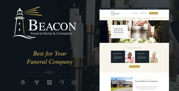 Beacon | Funeral Home Services & Cremation Parlor WordPress Theme - Business Corporate