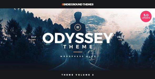 Odyssey - Personal WordPress Blog Theme