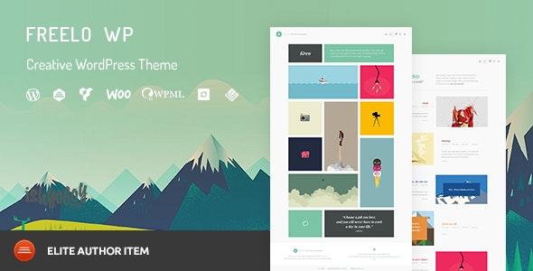 Freelo WP - Creative WordPress Portfolio Theme - Portfolio Creative