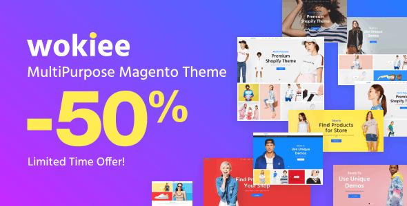 Wokiee - Multipurpose Fashion Magento Theme - Fashion Magento
