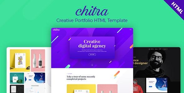 Chitra - Creative Portfolio HTML Template - Creative Site Templates