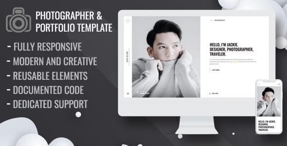 Maron - Personal Portfolio Template - Portfolio Creative