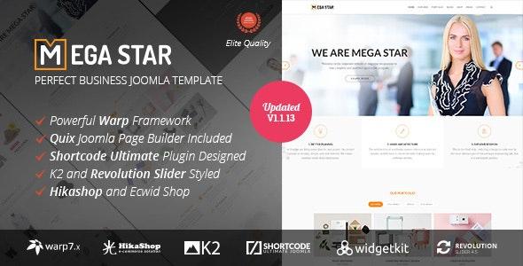 Megastar - Business Joomla Template - Business Corporate