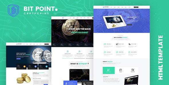 Bitpoint || Crypto Currency HTML5 Template - Business Corporate
