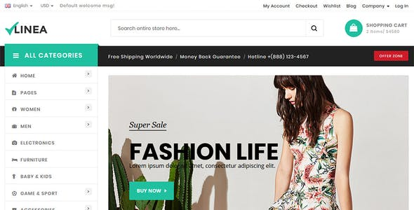 Mobile Html Fashion Website Templates From Themeforest