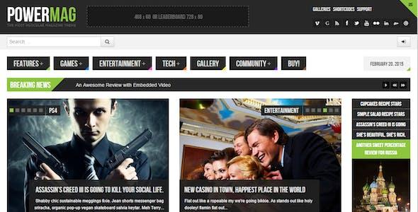 Magazine Themes BuddyPress Themes from ThemeForest