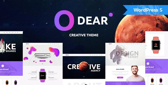 Odear - Multi-Concept Creative WordPress Theme - Creative WordPress