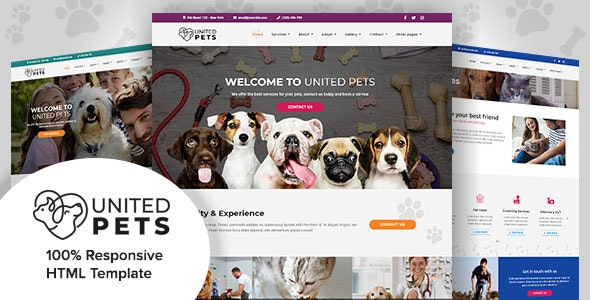 United Pets - Responsive HTML5 Template - Business Corporate