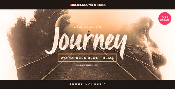 Journey - Personal WordPress Blog Theme