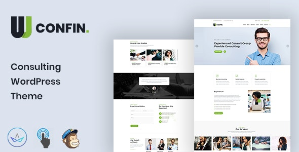 Confin - Consulting Business WordPress Theme - Business Corporate