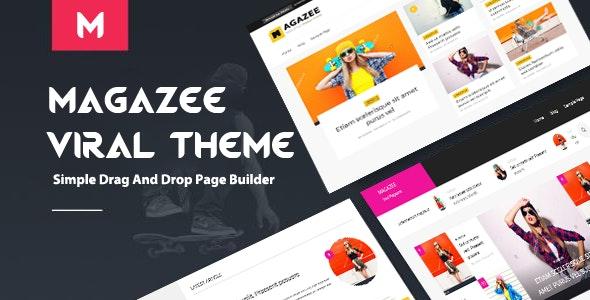 Magazee - Chic & Hot Responsive Magazine WordPress Theme - News / Editorial Blog / Magazine