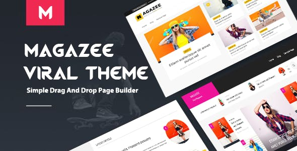 Magazee - Chic & Hot Responsive Magazine WordPress Theme