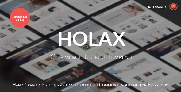Holax - Multipurpose Hikashop eCommerce Template - Shopping Retail