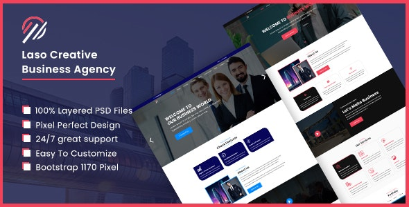 Laso - Creative Business Agency - Portfolio Creative