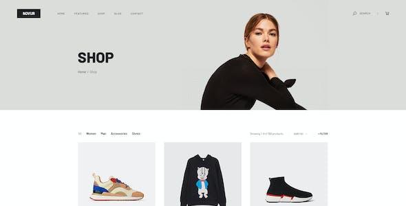 Novur - Shop PSD Template