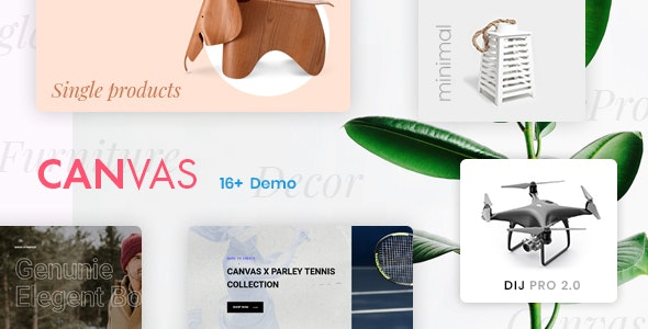 Canvas Minimal Clean Shopify Theme - Shopify eCommerce