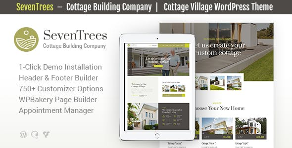 Download SevenTrees | Real Estate Property WordPress Theme