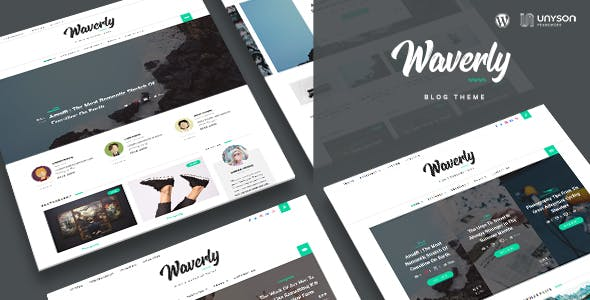 Waverly - Modern WordPress Blog Theme