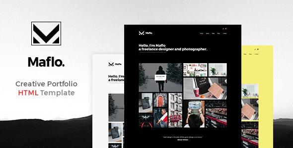 Maflo - HTML Portfolio - Portfolio Creative