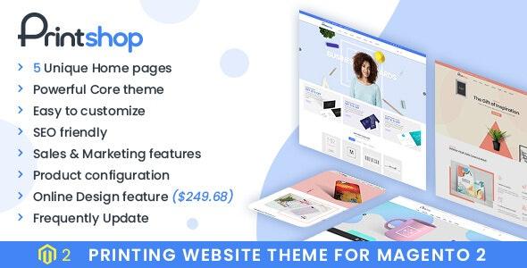 Printshop - Responsive Magento Printing Theme by netbaseteam