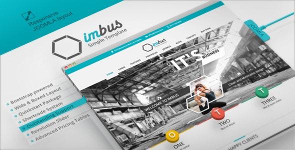 Imbus - Responsive Joomla Template - Art Creative
