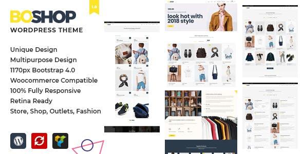BoShop - Multipurpose eCommerce WordPress Theme
