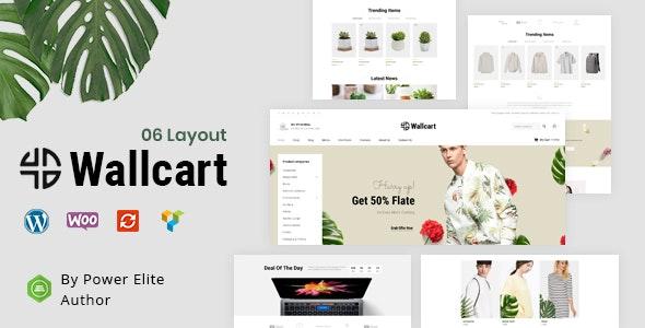 Wallcart - Multipurpose WooCommerce Theme - WooCommerce eCommerce